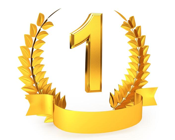 golden_wreath_award_for_number_one_winner_stock_photo_Slide01