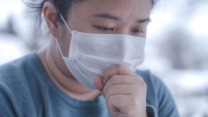 Coronavirus-Woman-Asia-Sick-Cough-Mask